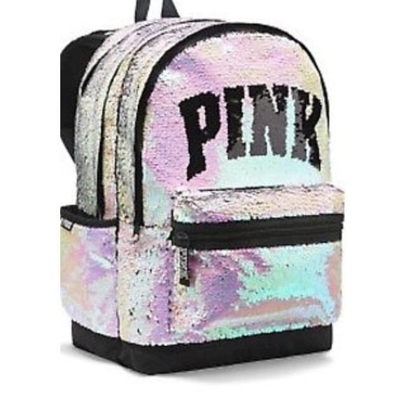 Victoria's Secret Handbags - Victoria's Secret new sequins backpack